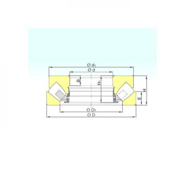 XSU 14 0544 INA Roulements à rouleaux de poussée