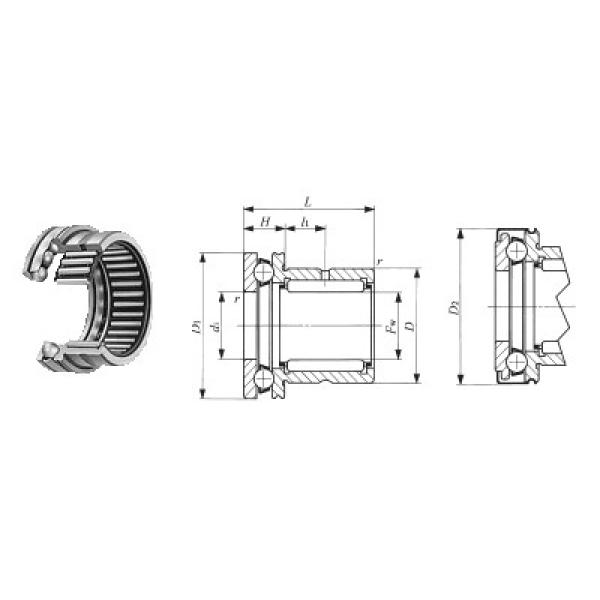 ZK.22.1100.100-1SPPN ISB Roulements à billes de poussée